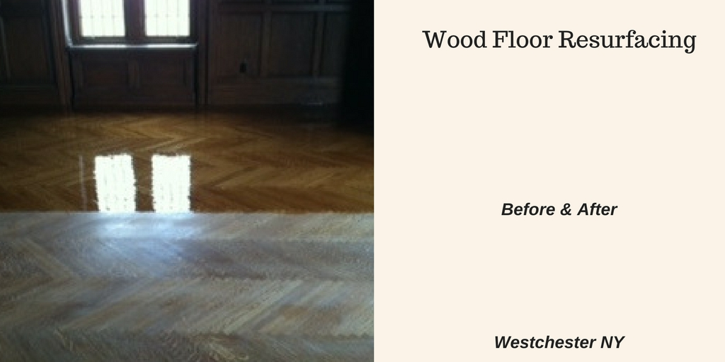 Flooring Before & After Recoating
