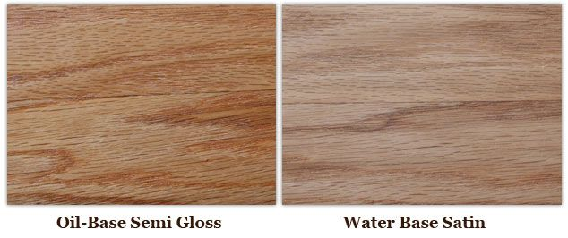 Water Based Polyurethane And Tung Oil